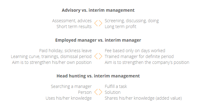Interim vs Consultant, ENG