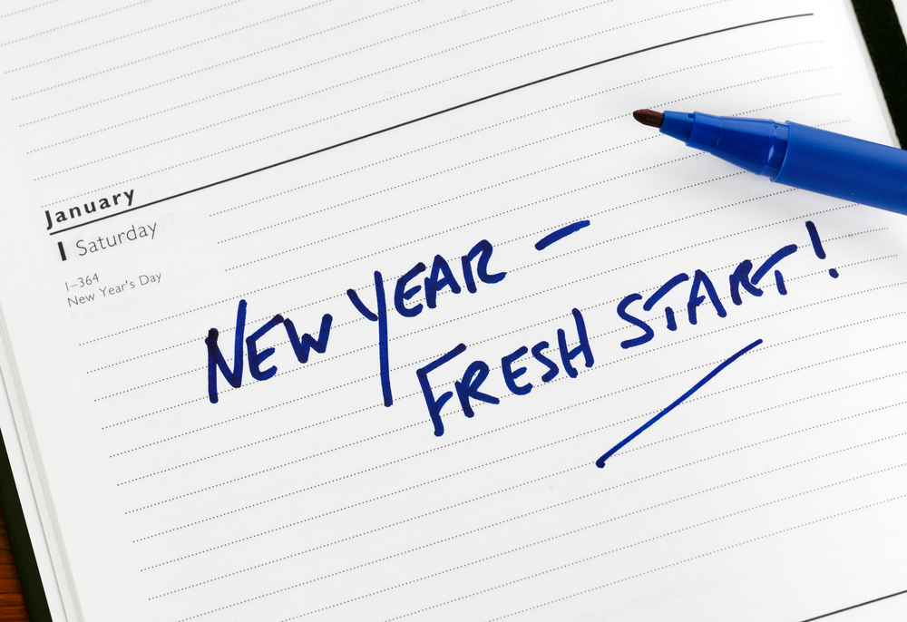 New Year, fresh start 2018